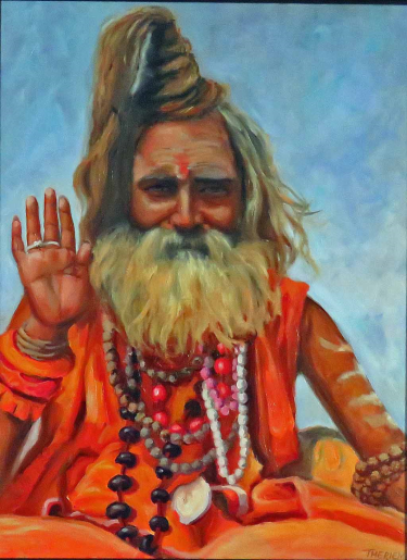 Hindu Holy Man - Varanarsi India