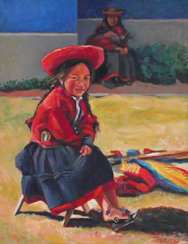 PERUVIAN COUNTRY GIRL - Lima, Peru