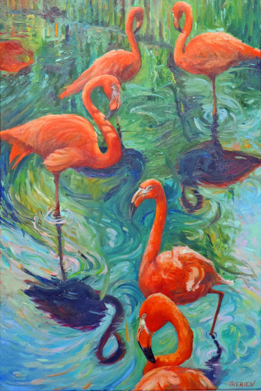 Pink Flamingos - Florida